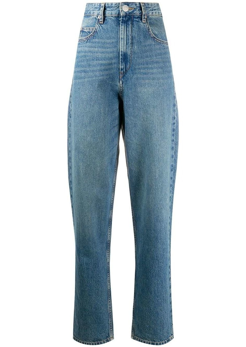 Isabel Marant high rise tapered jeans