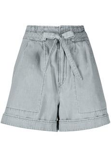 Isabel Marant high-rise tied-waist shorts