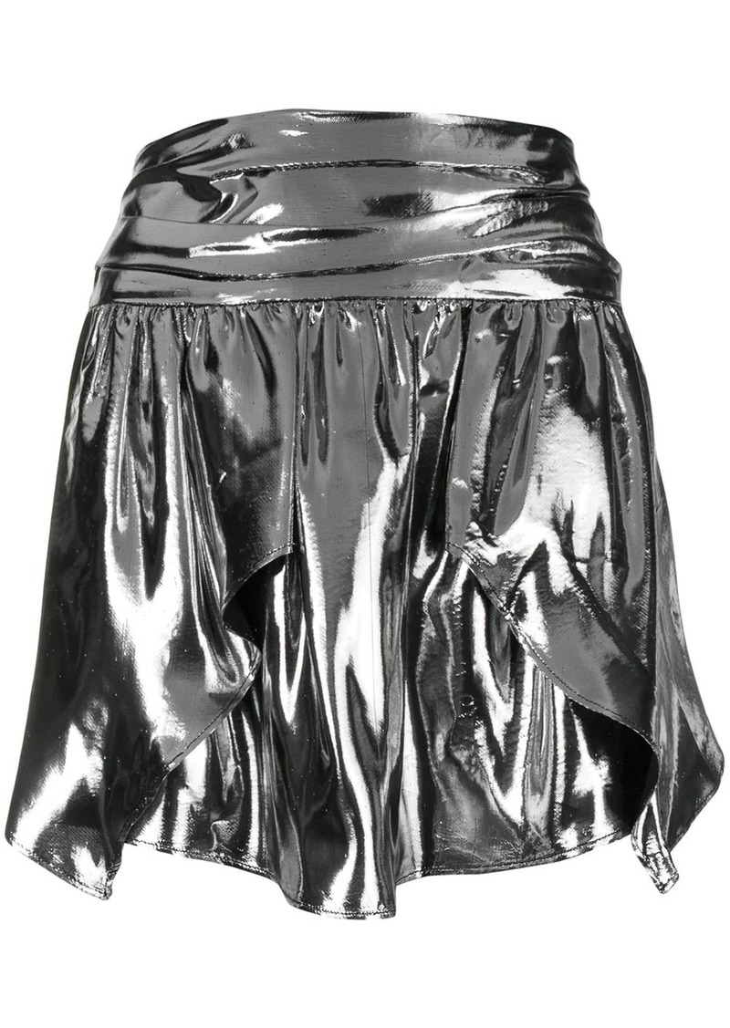 Isabel Marant high waist draped skirt