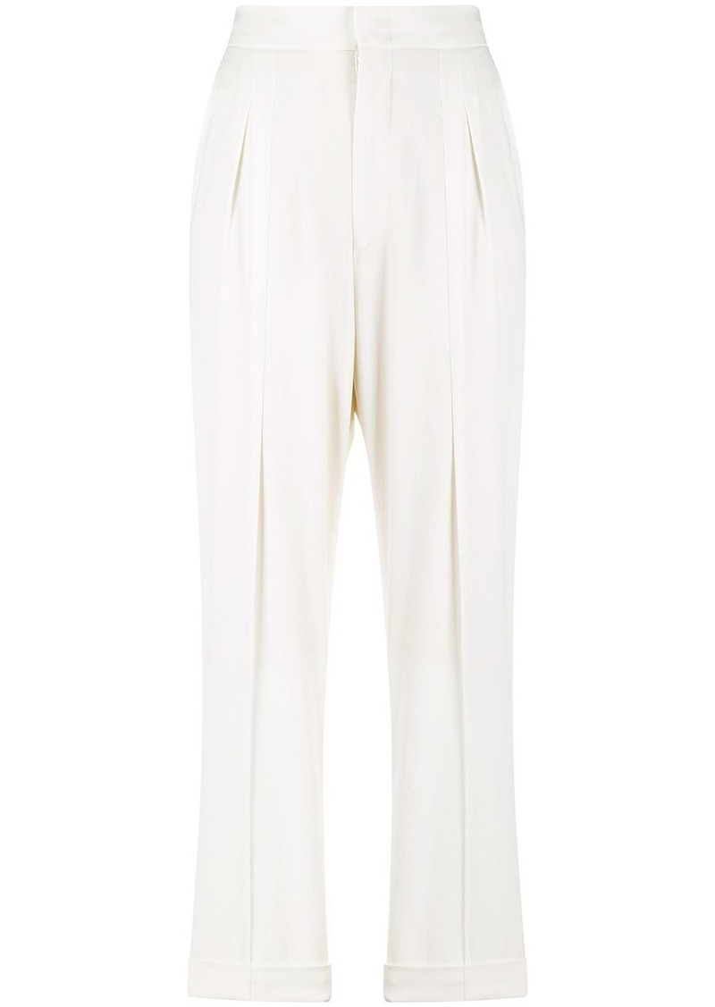 Isabel Marant high waist pleated trousers