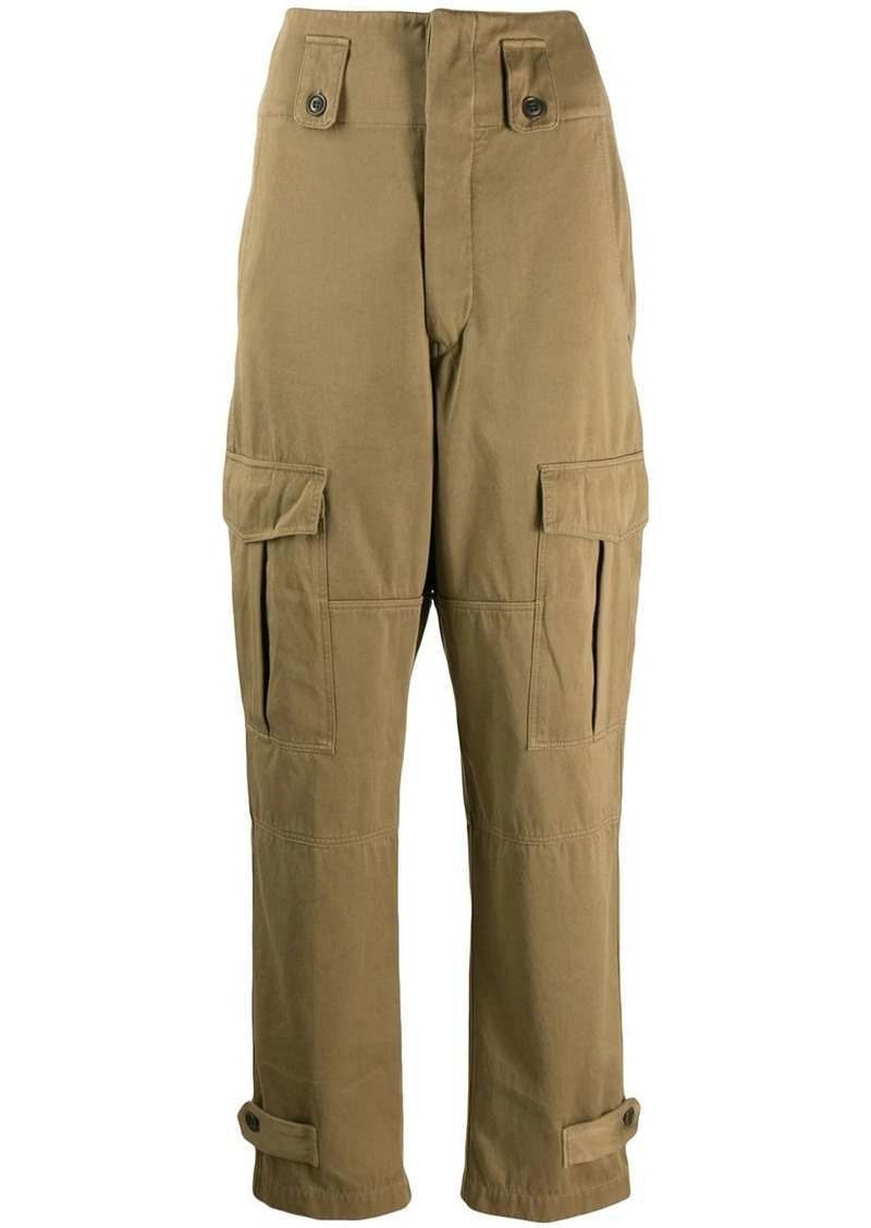 Isabel Marant high-waisted cargo trousers