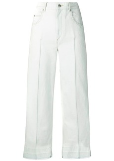 Isabel Marant high-waisted cropped jeans