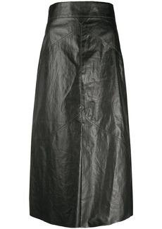 Isabel Marant high-waisted midi skirt