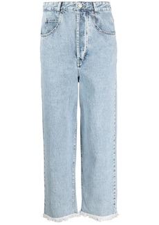 Isabel Marant high-waisted straight-leg jeans