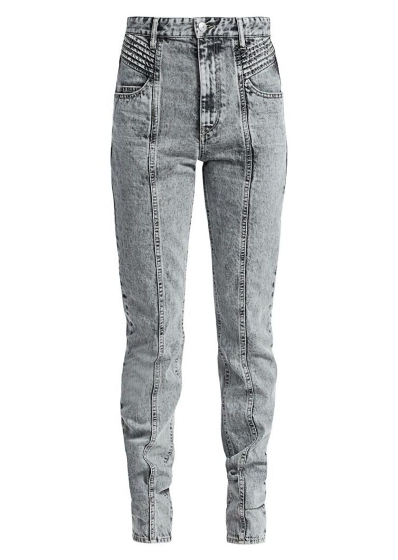 Isabel Marant Hominy Slim-Fit Jeans