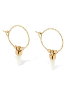 Isabel Marant Hoop Earrings W/charms