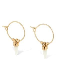 Isabel Marant Hoop Earrings W/charms