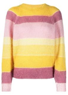 Isabel Marant horizontal-stripe pattern jumper