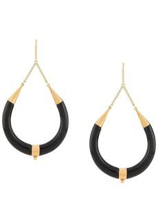 Isabel Marant horn drop earrings
