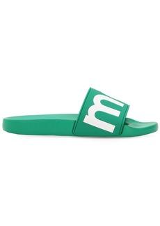 Isabel Marant Howee Logo Rubber Slide Sandals