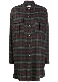 Isabel Marant Iceo checked shirt dress