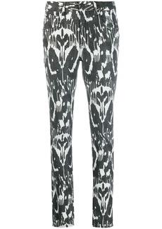 Isabel Marant ikat pattern trousers