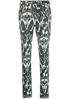 Isabel Marant ikat pattern trousers