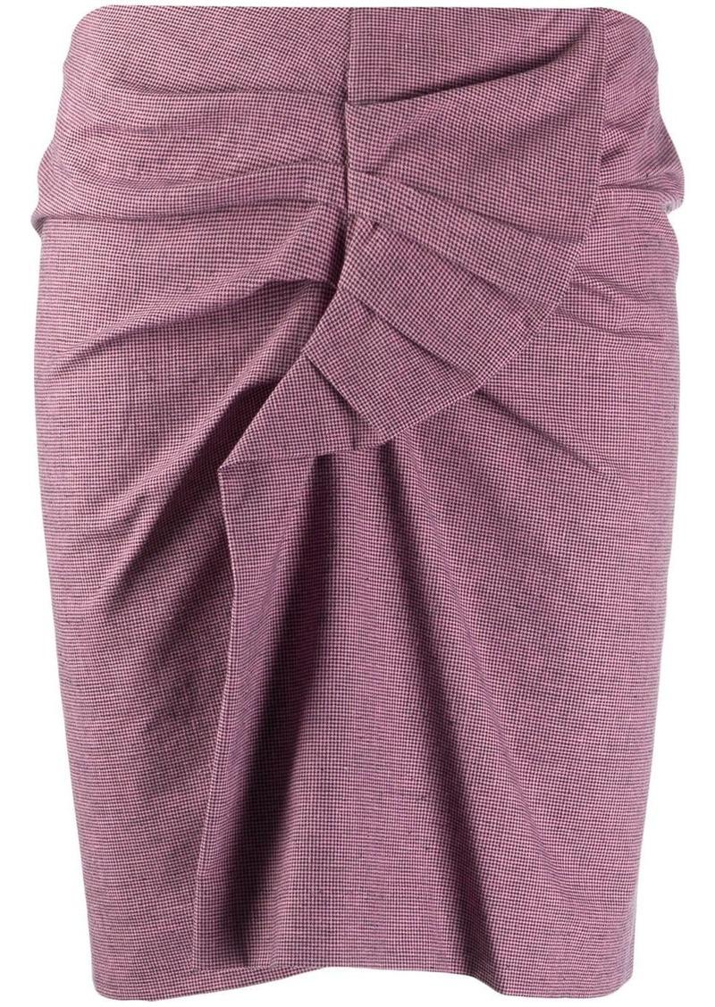Isabel Marant Ines knot detail skirt
