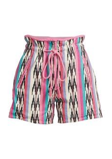 Isabel Marant Inima Chevron Shorts