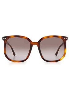 Isabel Marant 56mm Cat Eye Sunglasses