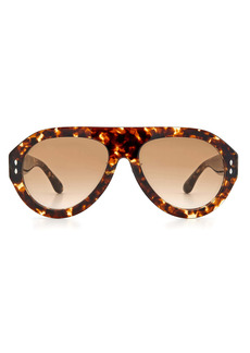 Isabel Marant 59mm Gradient Aviator Sunglasses