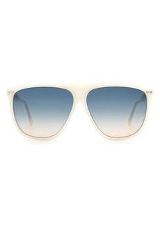 Isabel Marant 61mm Gradient Flat Top Sunglasses