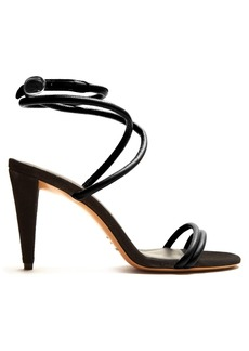 Isabel Marant Abigua tie-ankle leather sandals