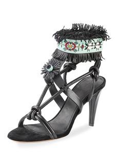 Isabel Marant Abrily Santa Fe Fringe Sandal