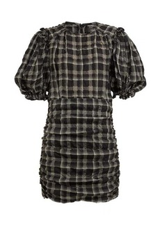Isabel Marant Adelaide organza mini dress
