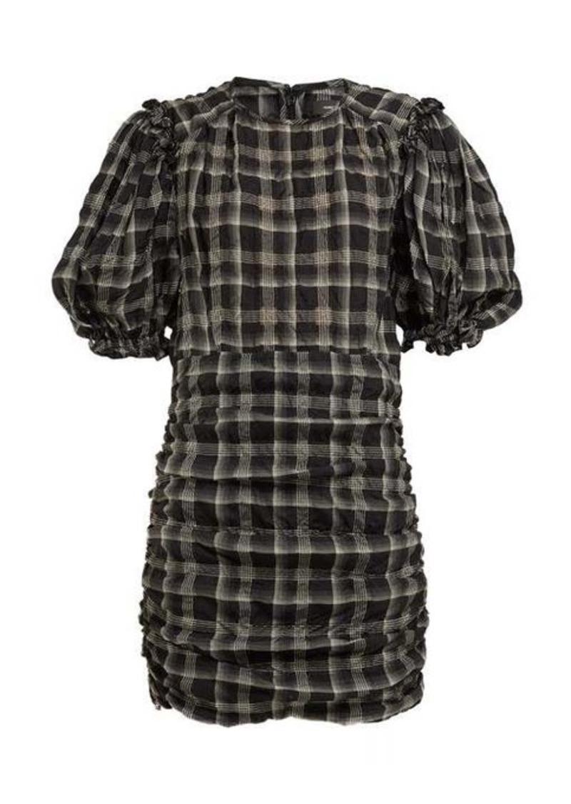 Isabel Marant Adelaide organza mini dress