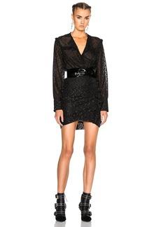 Isabel Marant Adriana Lurex Dot Dress