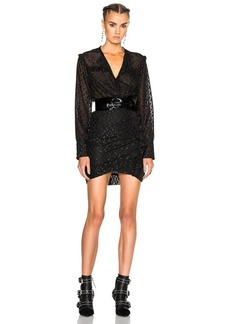 Isabel Marant Adriana Lurex Dot Dress