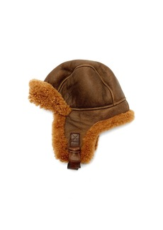 Isabel Marant Airy shearling aviator hat
