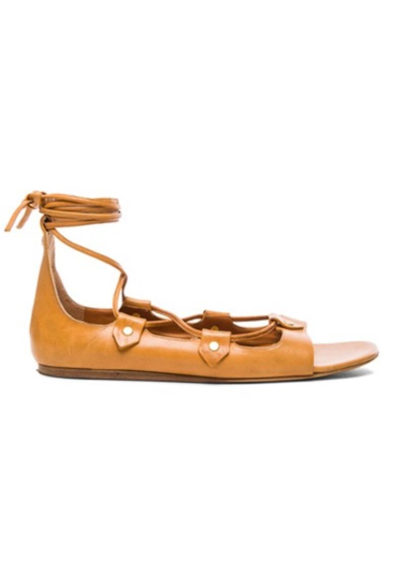 Isabel Marant Alisa Leather Flats