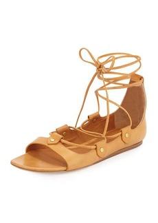 Isabel Marant Alisa Leather Lace-Up Sandal