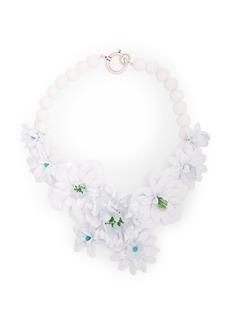 Isabel Marant Aloha stone-flower necklace