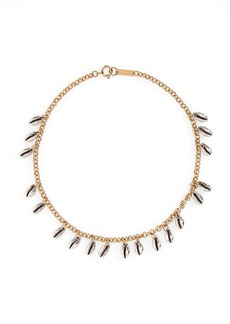 Isabel Marant Amer Shell Collar Necklace