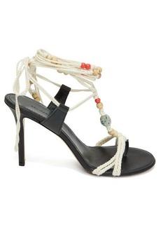 Isabel Marant Amopi bead-embellished rope sandals
