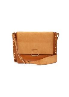 Isabel Marant Asli studded leather shoulder bag