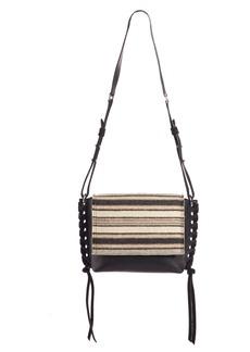 Isabel Marant Asli Wool & Leather Shoulder Bag