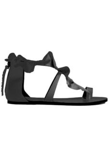 Isabel Marant Audry ruffle-trimmed flat leather sandals