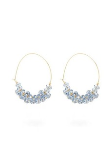 Isabel Marant Bead-embellished hoop earrings