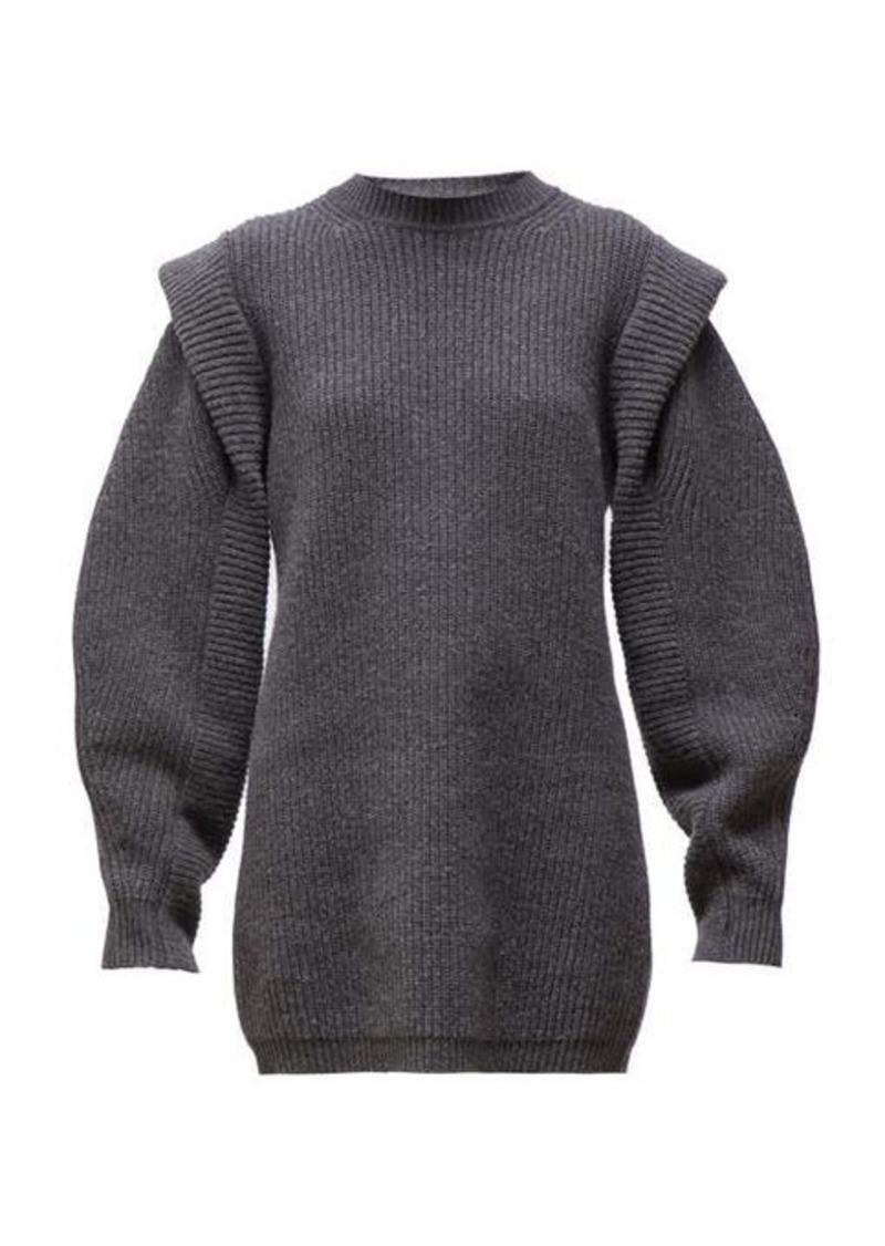 Isabel Marant Beatsy balloon-sleeve cashmere-blend sweater dress