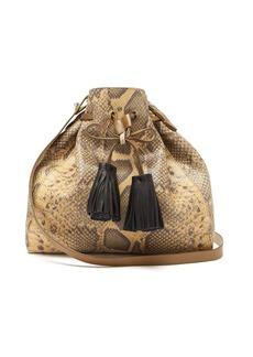 Isabel Marant Beeka snake-effect leather bucket bag