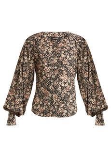 Isabel Marant Berny floral-print blouse
