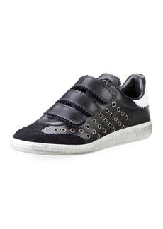 Isabel Marant Beth Studded Grip-Strap Sneaker
