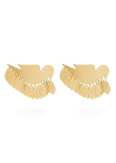Isabel Marant Bird-pendant clip earrings