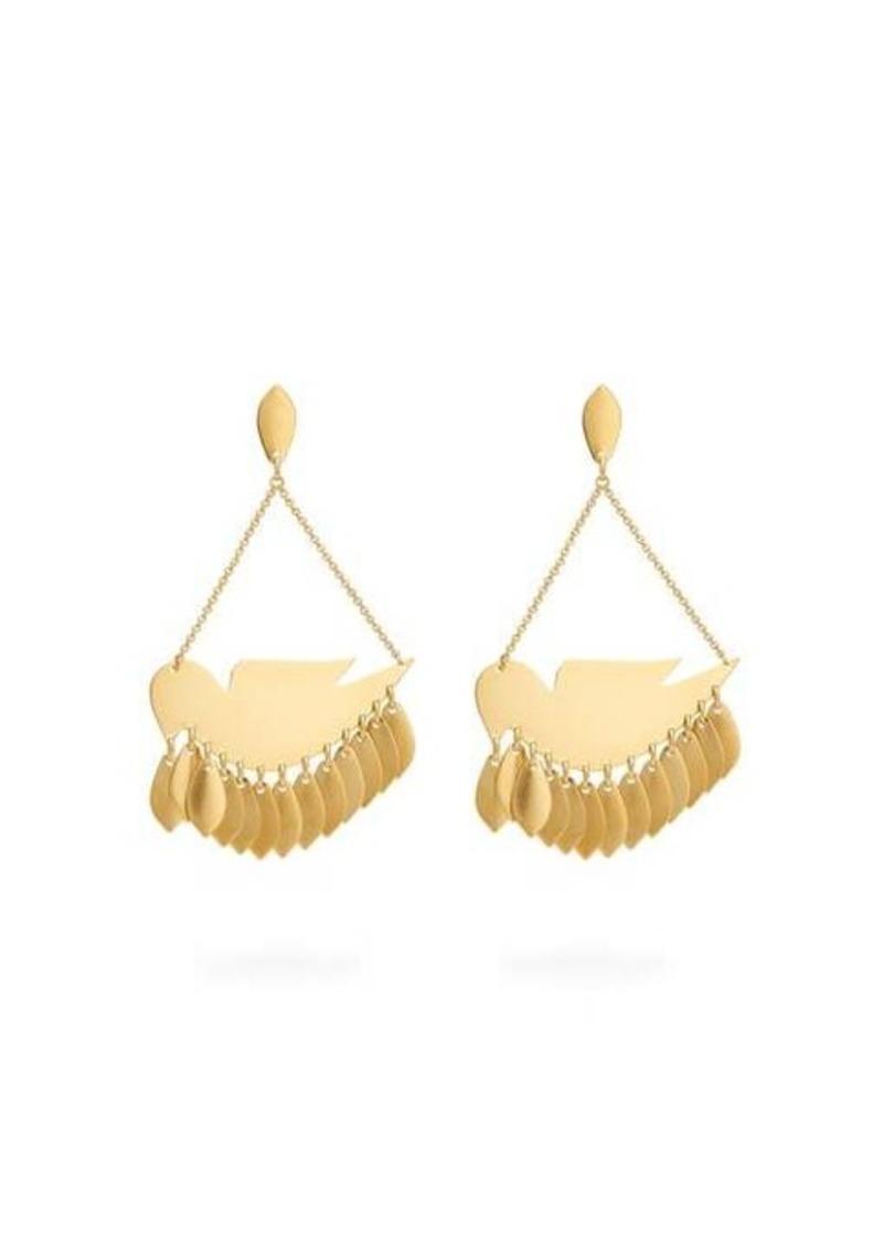 Isabel Marant Bird-pendant earrings