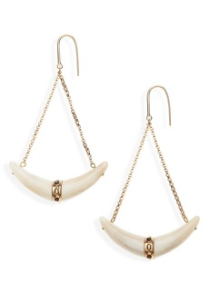 Isabel Marant Bouclé D'Oreille Horn Earrings