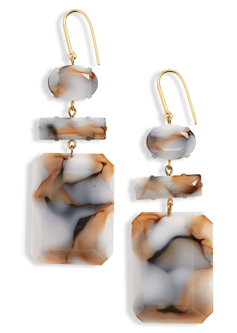 Isabel Marant Boy Geo Drop Earrings