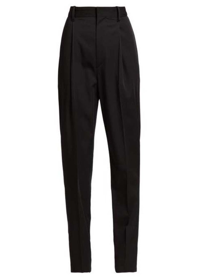 Isabel Marant Boyd high-rise wool trousers