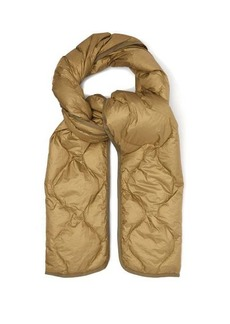 Isabel Marant Bremon quilted technical-shell scarf