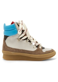 Isabel Marant Brendta leather and suede boots