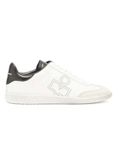 Isabel Marant Bryce perforated-logo leather trainers